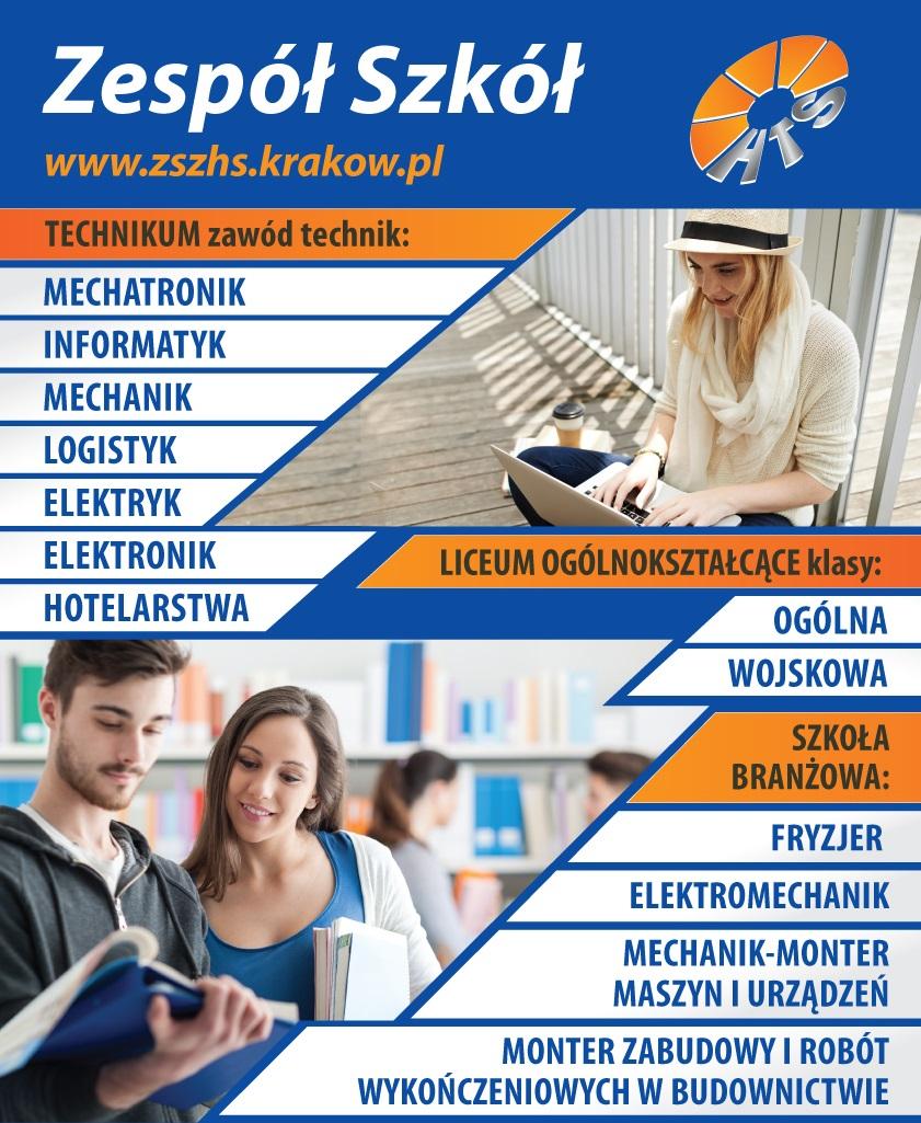 Plakat ZSZHS_nabór